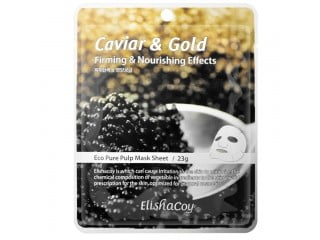 ELISHACOY CAVIAR & GOLD MASK SHEET
