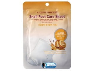 Luxury The Cure Snail Foot Care Sheet