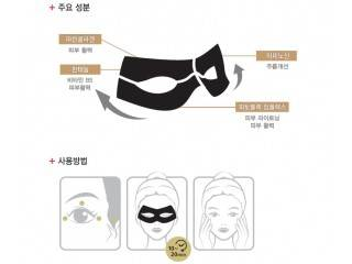 Black Eye Anti-Wrinkle Mask