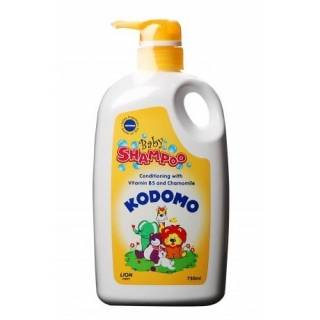 Kodomo Baby Shampoo Conditioning with Vitamin B5 and Chamomile
