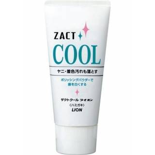 LION ZACT COOL toothpaste