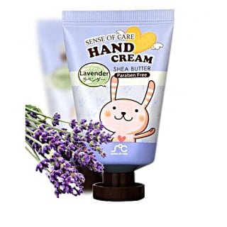 Крем для рук с экстрактом лаванды RAINBOW Sence Of Care Hand Cream Shea Butter LAVENDER