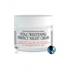 Восстанавливающий ночной крем Chamos Acaci Vita-C Whitening Perfect Night Cream