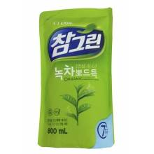 "CJ LION ""Charmgreen""  green tea 800 ml"