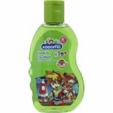 Kodomo Head to Toe Wash Apple Peach