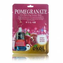 Маска с гранатом Ekel Pomegranate Ultra Hydrating Essence Mask
