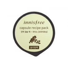 Капсульная ночная маска для лица с рисовым экстрактом Innisfree Capsule Recipe Pack - Rice